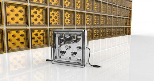 Стеклянные блоки генерируют солнечную энергию