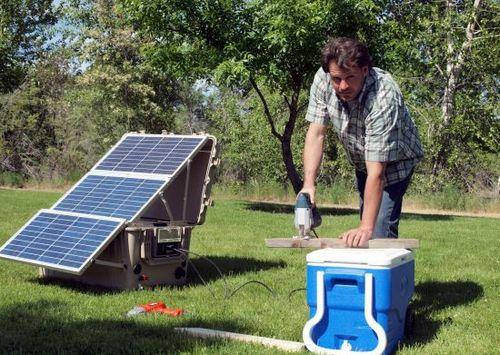 Suntrunk - автономная солнечно-энергетическая система