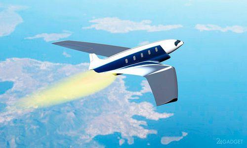 Сверхскоростной самолёт облетит вокруг земли за час (6 фото)