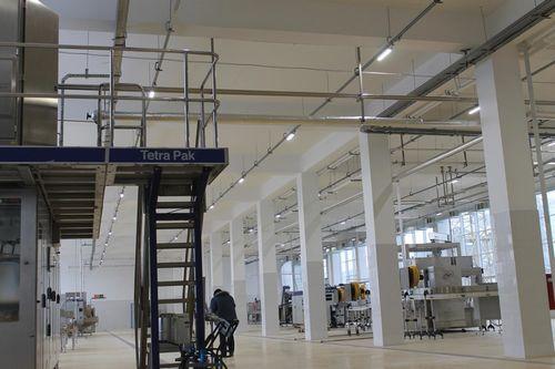 Светодиодное освещение производственных помещений