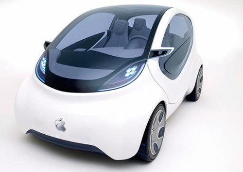 Таинственный автомобиль, принадлежащий apple, замечен в калифорнии