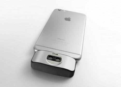 Тепловизор для iphone и ipad (5 фото)