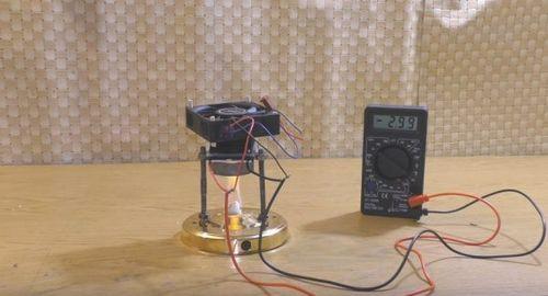 Термогенератор на элементах пельтье