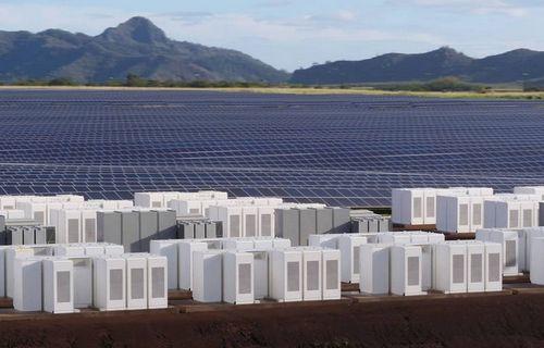 Tesla строит огромный завод солнечной энергии на острове кауаи