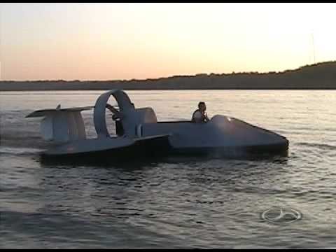 The flying hovercraft (4 pics + video)