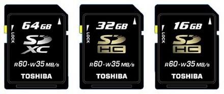Toshiba обещает карты памяти на 2 тб