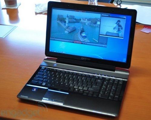 Toshiba показала 3d-ноутбук, не требующий для просмотра стереокартинки использования специальных очков