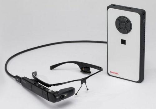 Toshiba создала первые в мире умные очки под управлением windows 10