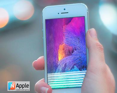 У iphone 5 новая проблема с дисплеем
