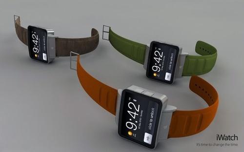 У «умных» часов apple, вероятно, будет полуторадюймовый тачскрин