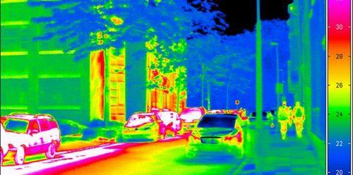 Ученые скрыли человека от тепловизора за материал из нового состава