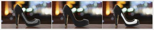 Умные туфли volvorii timeless с меняющейся расцветкой (7 фото + видео)