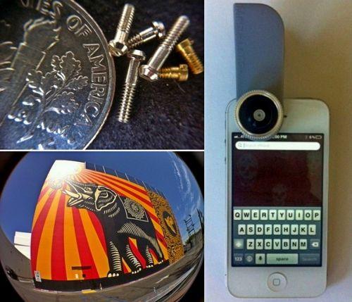 Универсальные объективы для ноутбуков, смартфонов и планшетов (6 фото)