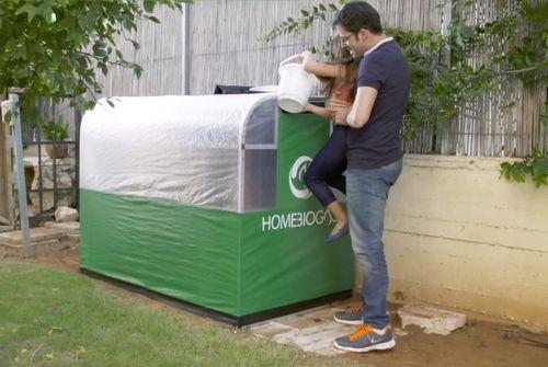 Установка для преобразования пищевых отходов в газ (видео)