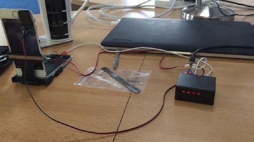 Устройство для подбора pin-кодов к iphone
