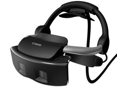 В canon выпустили очки со смешанной системой реальности