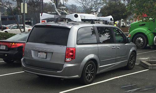 В калифорнии заметили загадочный автомобиль apple
