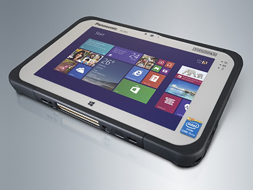 В россии представлен «бюджетный» защищенный планшет panasonic toughpad fz-m1 value