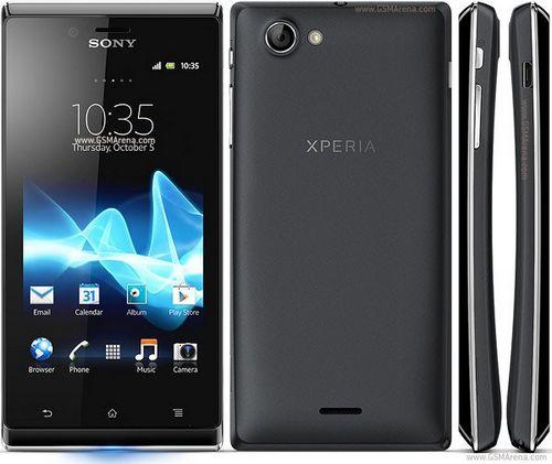 В россии стартуют продажи смартфона sony xperia j