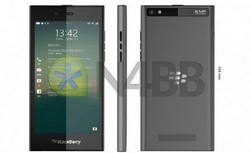 В сети появились изображения и характеристики исключительно сенсорного смартфона blackberry rio (z20)