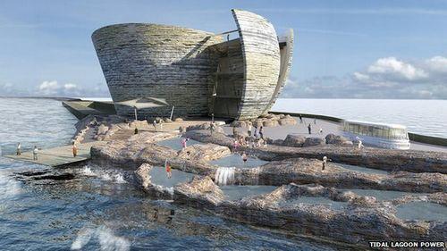 Великобритания построит электростанции - лагуны