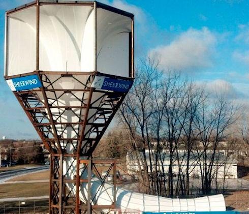 Ветровая турбина invelox мощнее традиционных ветряков на 600%