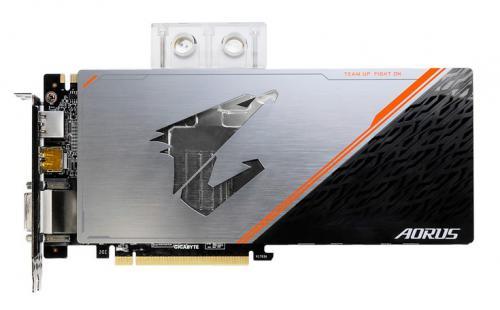 Видеокарта gigabyte aorus geforce gtx 1080 ti waterforce wb xtreme edition 11g получила семь видеовыходов
