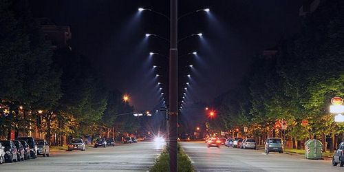 Виды уличного освещения