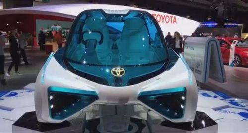 Водородный концепт-кар toyota fcv plus (10 фото + 2 видео)