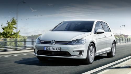Volkswagen e-golf нового поколения имеет запас хода в 200 км