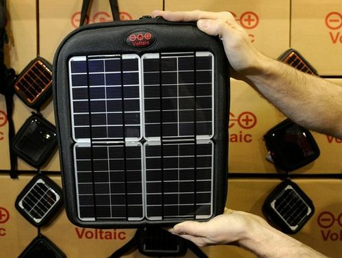 Voltaic solar spark - сумка-чехол с солнечными батареями (7 фото + видео)