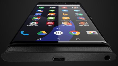 Впервые опубликовано изображение смартфона blackberry на android