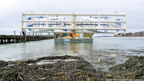 Впервые в истории сша приливная турбина поставляет энергию в электросети