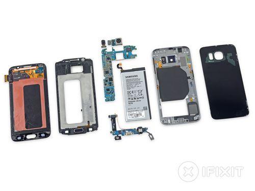 Вскрытие показало: для замены аккумулятора samsung galaxy s6 нужно полностью разобрать смартфон