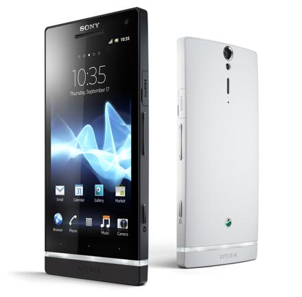 Выпущен первый смартфон под брендом sony