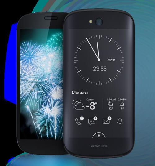 Yota представляет yotaphone - российский коммуникатор с двумя экранами