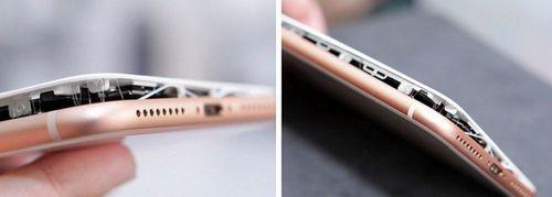 Зафиксированы первые два случая брака в iphone 8 plus (7 фото)
