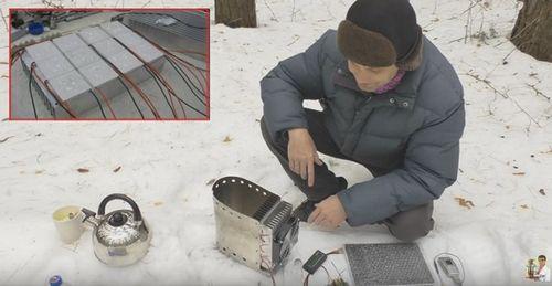 Зарядное устройство на элементах пельтье на 10 ватт для планшета