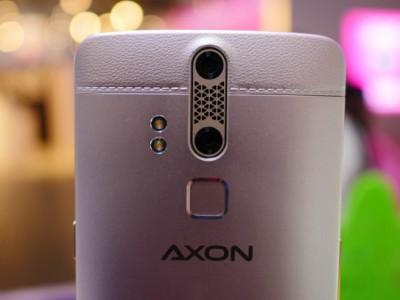Zte axon elite с функцией распознавания глаз появился в продаже