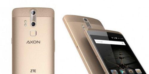 Zte axon elite – смартфон высокого уровня, который узнает владельца по пальцам, глазам и даже голосу